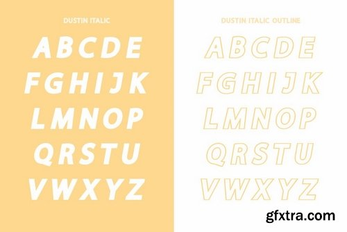 CM - Dustin Sans Font Family 3954616
