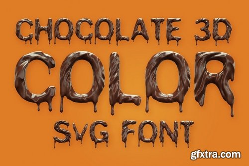 Chocolate Color Font