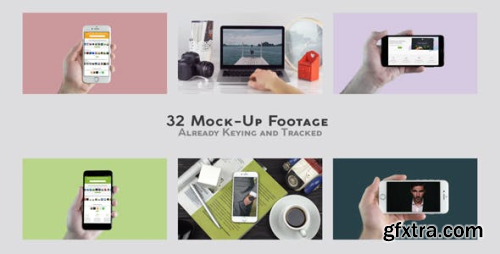 VideoHive Mock-Up Real Footage Mobile and Laptop 21565398
