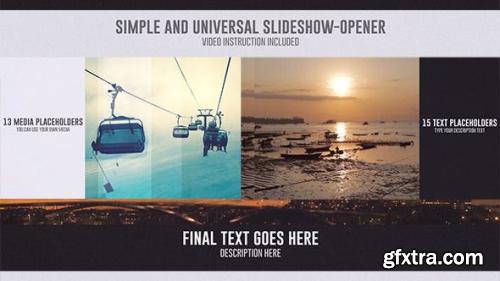VideoHive Universal  SlideShow-Opener 12724019