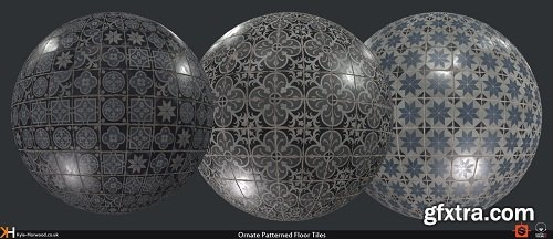 Gumroad – Creating Ornate Tiles Material in Substance