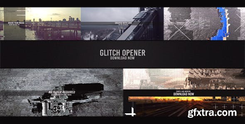 VideoHive Glitch Opener 12874511
