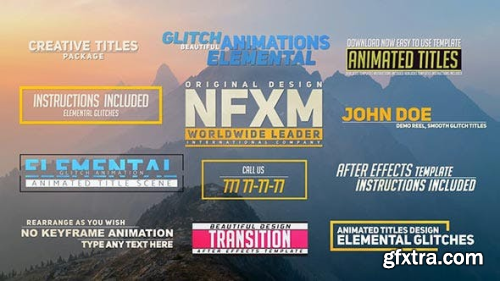 VideoHive Creative Titles 20163797