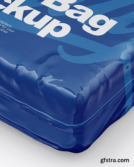 Glossy Food Bag Mockup 46224
