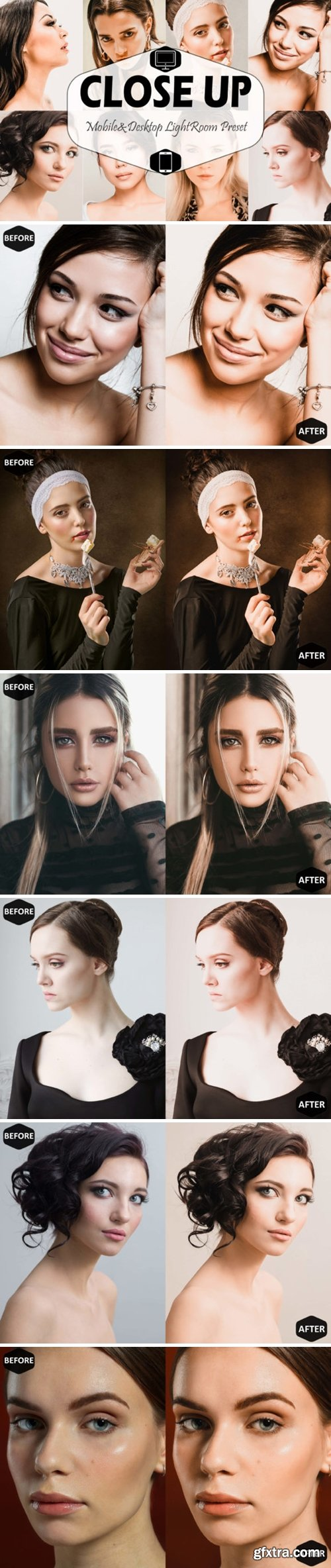 Close Up Mobile Desktop Lightroom Preset 1629239