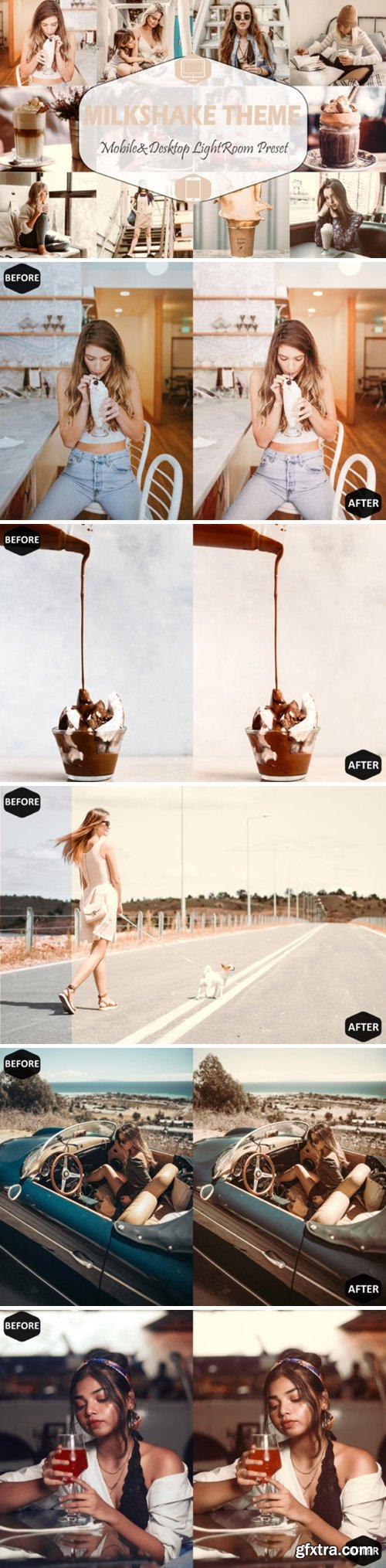 Milkshake Mobile Desktop Lightroom Preset 1629191