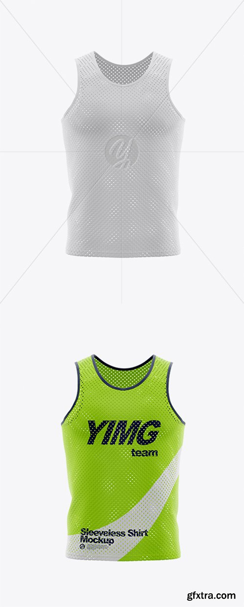Sleeveless Shirt Mockup 36712