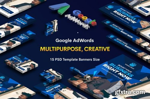 Multipurpose, Business, Startup Banners Ad