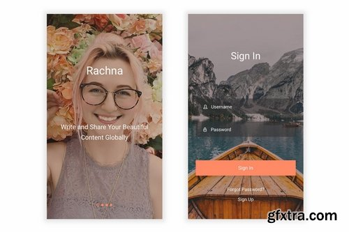Rachna - Blogging Platform Figma UI Kit