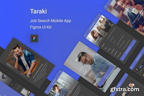 Taraki - Job Search Figma UI Kit
