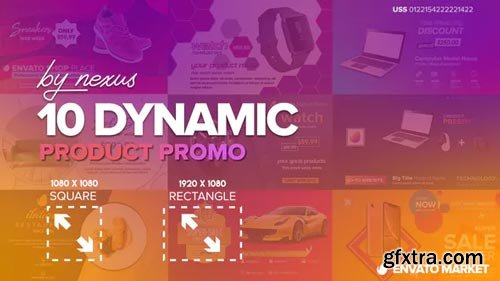 Videohive - Dynamic Product Promo - 23531342