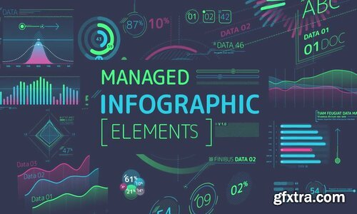 Videohive - Managed Infographic Elements - 24081236