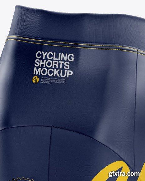 Women's Cycling Shorts Mockup 46216