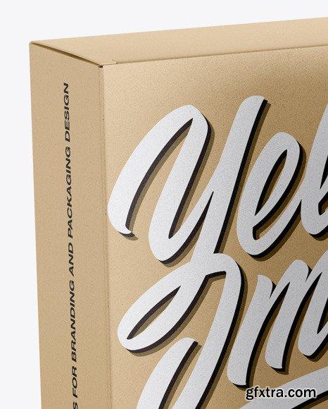 Two Kraft Boxes Mockup 46372