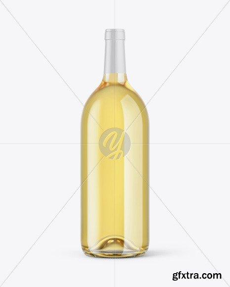 1.5L White Wine Bottle Mockup 46340