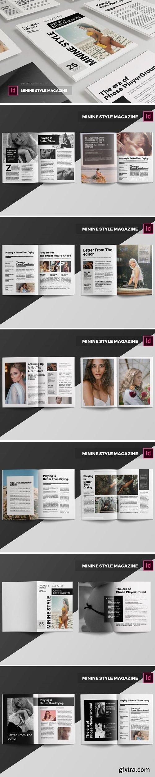 Minine Style   Magazine Template