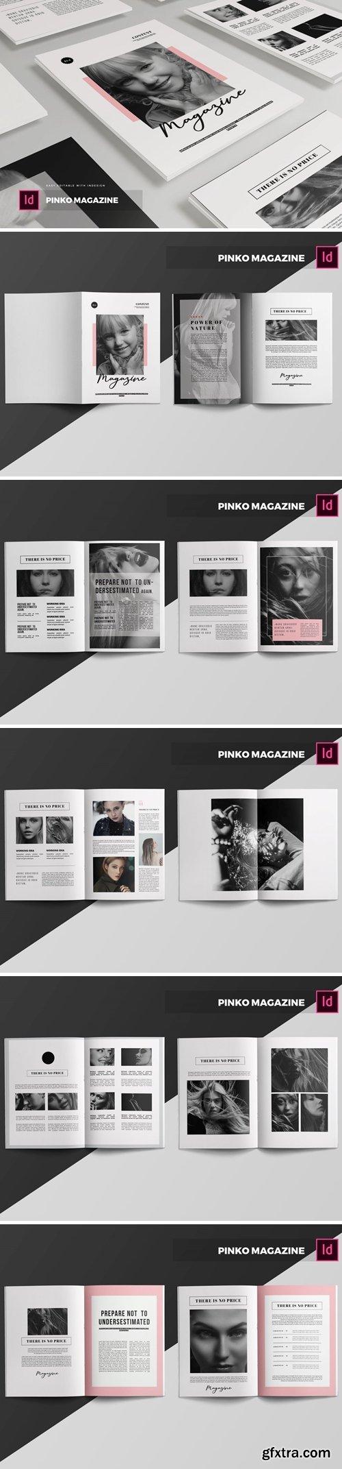 Pinko   Magazine Template