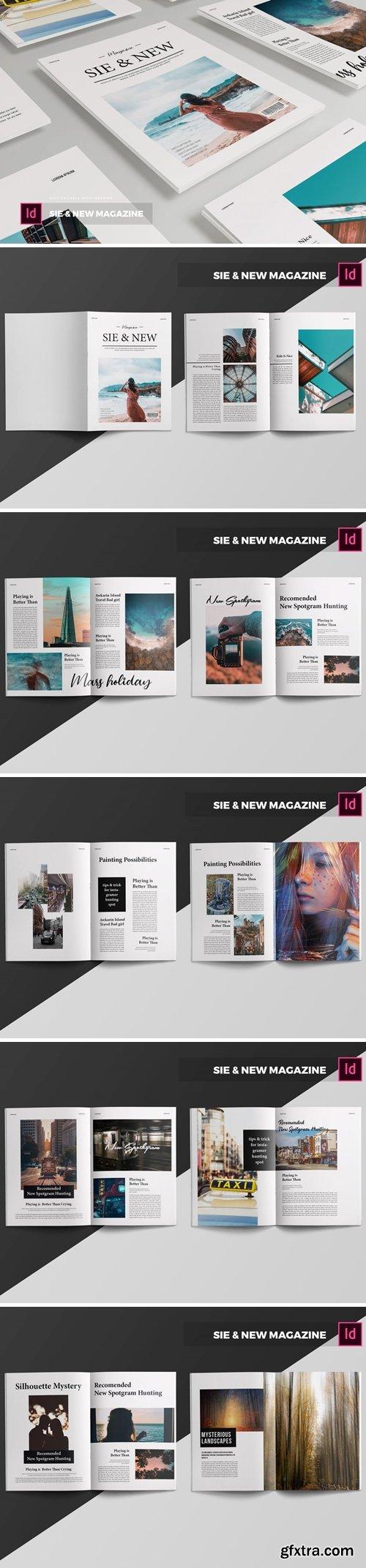 Sie & New   Magazine Template