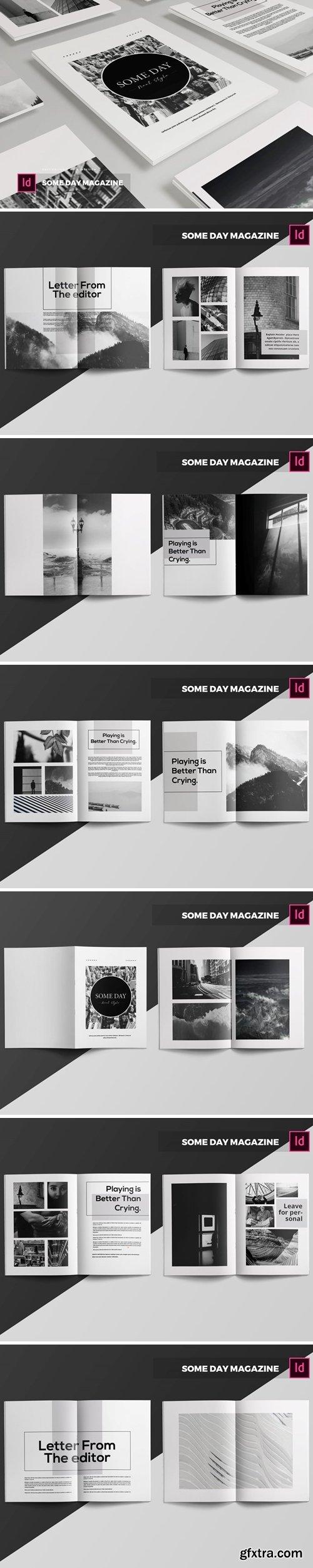Someday   Magazine Template