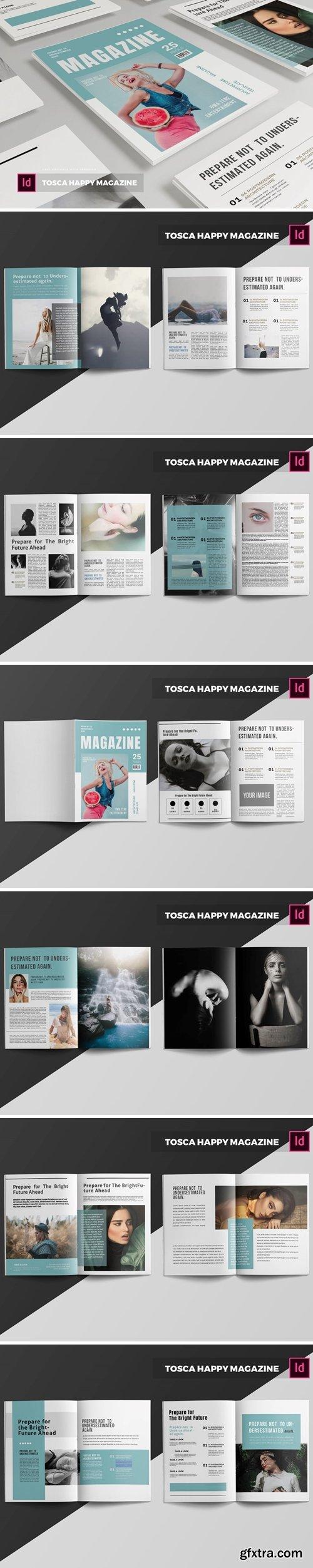 Tosca Happy   Magazine Template