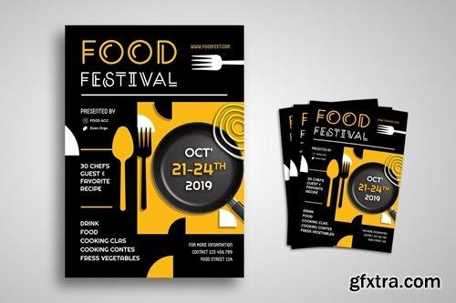 Food Festival Promo Flyer
