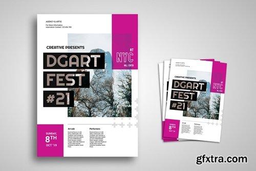 Art Exhibition Promo Flyer