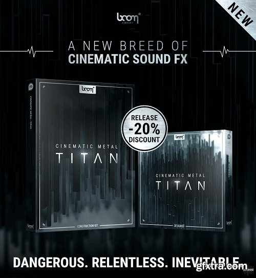 Boom Library Cinematic Metal - Titan: Designed & Construction Kit WAV