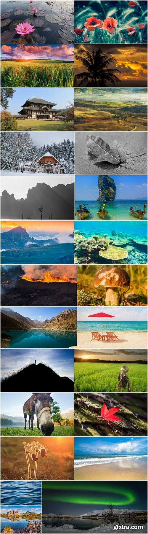 Images of different nature 2-25 HQ Jpeg