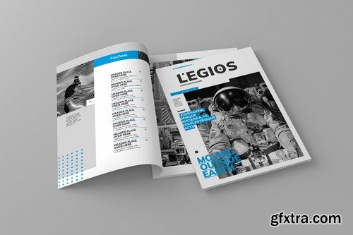Legios - Magazine Template