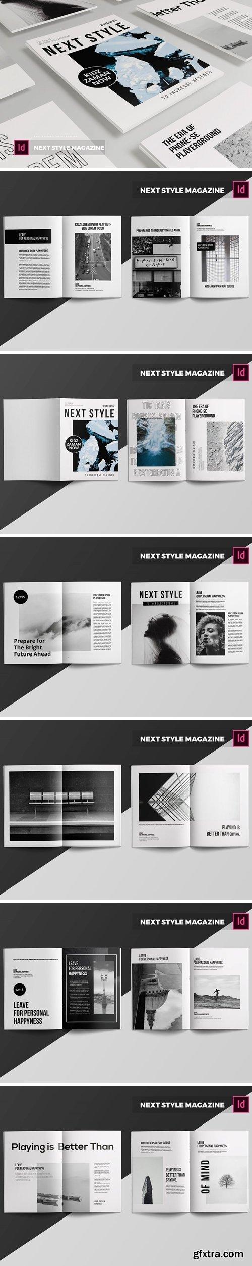 Next Style   Magazine Template