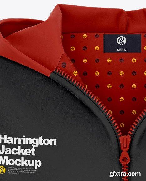 Women\'s Harrington Hooded Jacket 46439