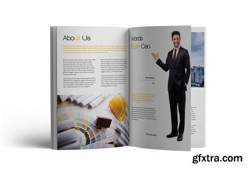 Construction A4 Brochure