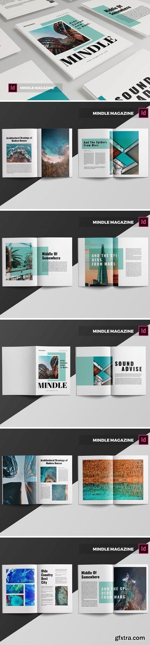 Mindle  Magazine Template
