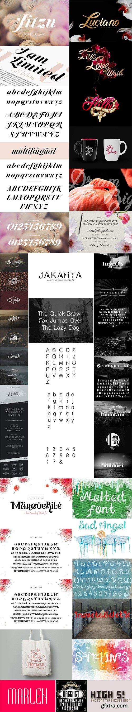 Mix Fonts Bundle 75