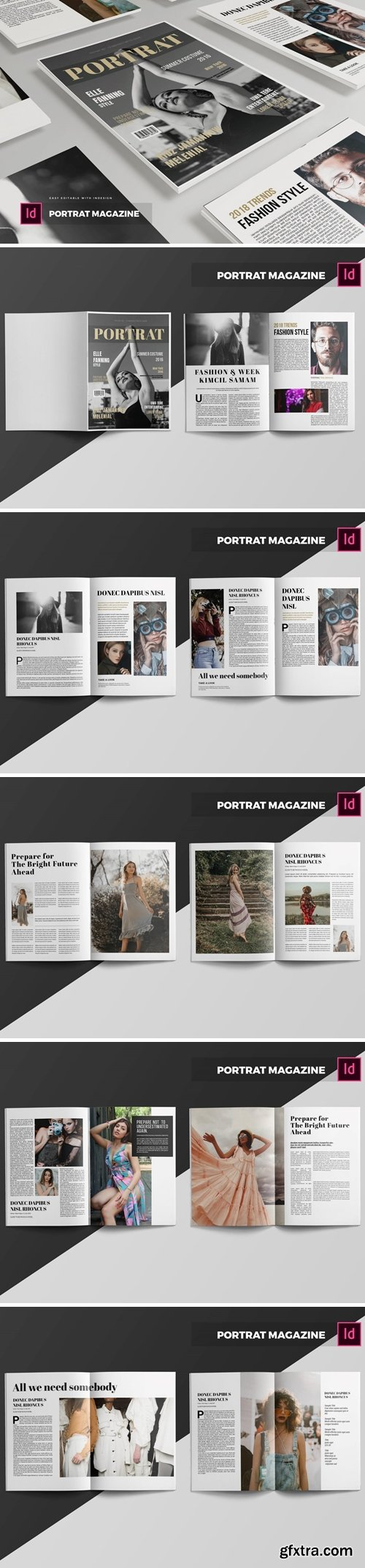 Potrat   Magazine Template