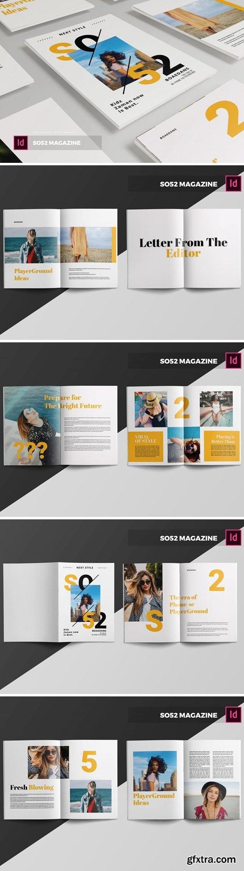SO52   Magazine Template