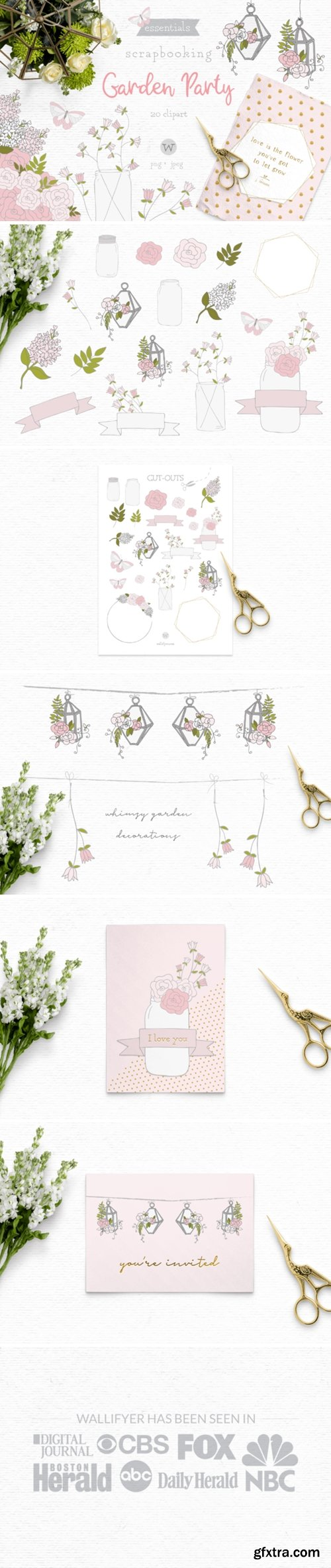 Summer Floral Clipart 1622320