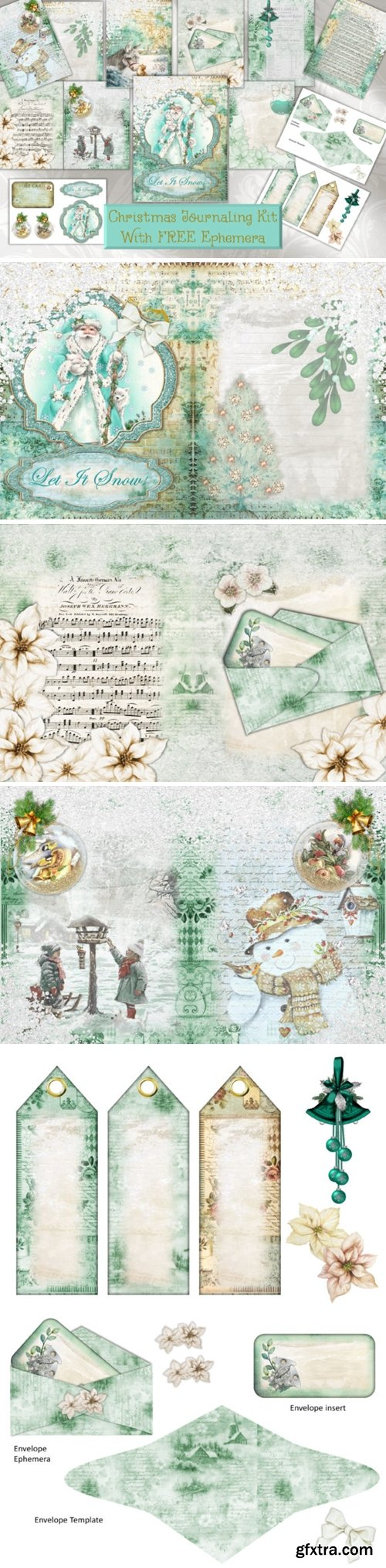 Christmas Backgrounds and Clipart 1629596