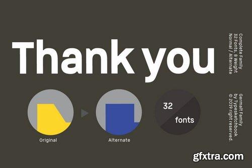Germalt Font Family