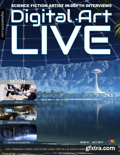 Digital Art Live - July 2019