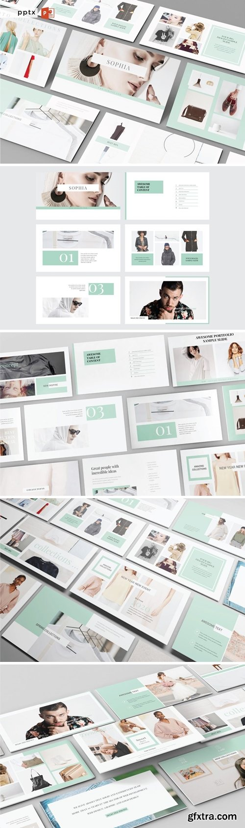 SOPHIA - Multipurpose Powerpoint, Google Slides and Keynote Template Presentation