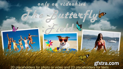 VideoHive Photo Slideshow - Butterfly Field 9359232
