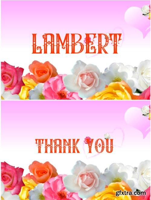 Lambert Font