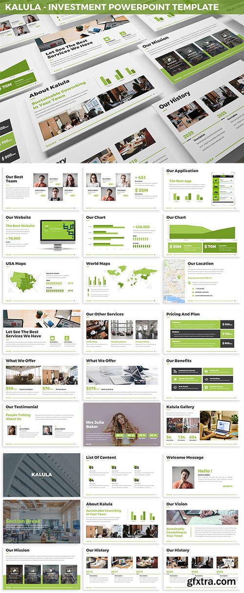 Kalula - Investment Powerpoint Template