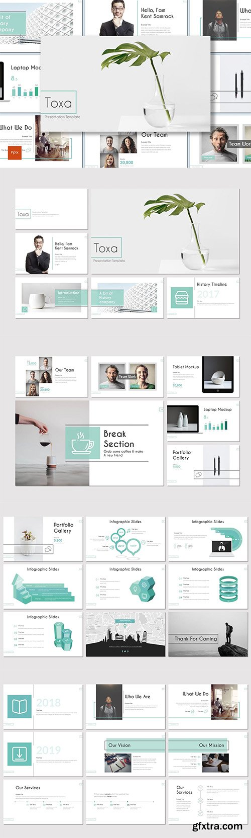 Toxa - Investment Powerpoint Template