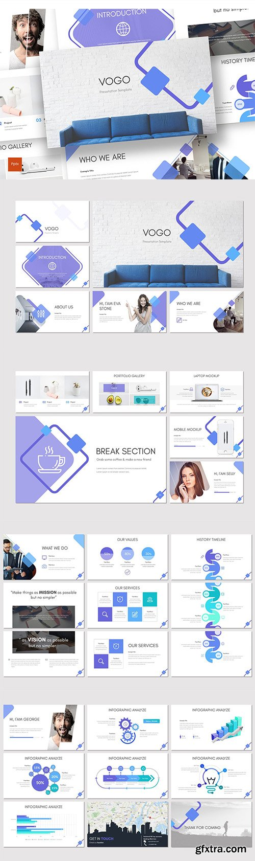 Vogo - Investment Powerpoint Template