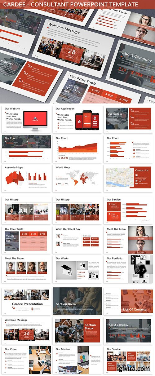 Cardee - Consultant Powerpoint Template