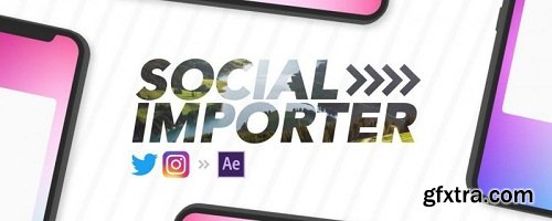 Social Importer 1.0 for After Effects
