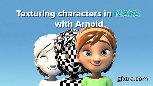 Texturing characters in Maya using Arnold » GFxtra