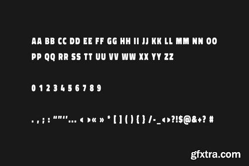 SPOT - Display Headline Typeface 3973821